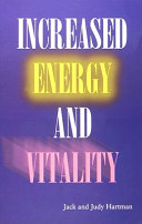 Increased Energy and Vitality