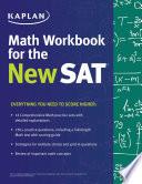 Kaplan Math Workbook for the New SAT Book