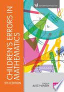 Children s Errors in Mathematics Book