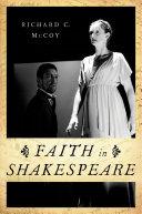 Faith in Shakespeare Pdf/ePub eBook