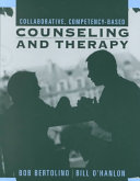 Collaborative  Competency based Counseling and Therapy