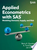 Applied Econometrics with SAS
