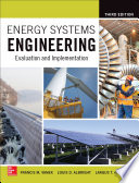 Energy Systems Engineering Evaluation And Implementation Third Edition Book PDF