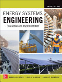 Energy Systems Engineering  Evaluation and Implementation  Third Edition