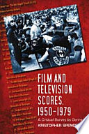 Film And Television Scores 1950 1979