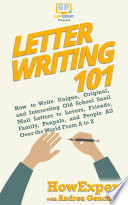 Letter Writing 101 Book