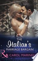 The Italian s Marriage Bargain  Mills   Boon Modern