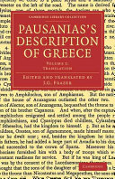Pdf Pausanias's Description of Greece