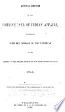 Annual Report of the Commissioner of Indian Affairs Book PDF