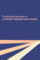 Pdf The Europa Directory of Literary Awards and Prizes