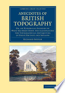 Anecdotes Of British Topography