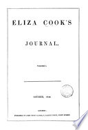 Eliza Cook S Journal