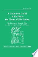 Good Son is Sad If He Hears the Name of His Father