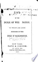 Life of the Duke of Wellington