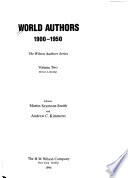 World Authors, 1900-1950