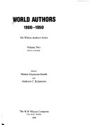 Free World Authors, 1900-1950 Read Online