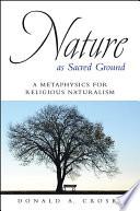 Nature as Sacred Ground Book PDF