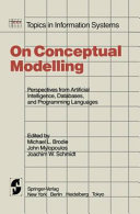 On Conceptual Modelling Book