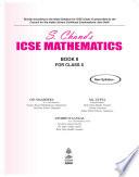 S. Chand's ICSE Mathematics Class X