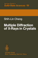 Multiple Diffraction of X-Rays in Crystals - Seite 301
