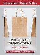 Cover of Intermediate Microeconomics a Modern Approach Workouts in Intermediate Microeconomics for Intermediate Microeconomics and Intermediate