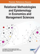 Relational Methodologies and Epistemology in Economics and Management Sciences