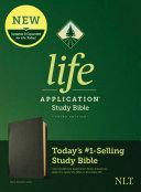 NLT Life Application Study Bible  Third Edition  Genuine Leather  Black