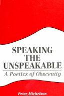 Pdf Speaking the Unspeakable