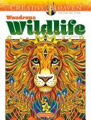 Creative Haven Wondrous Wildlife Coloring Book