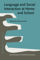 Language and Social Interaction at Home and School Pdf/ePub eBook