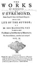 Pdf The Works of Monsieur de St. Evremond