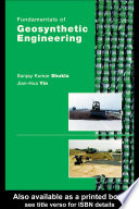 Fundamentals of Geosynthetic Engineering Book