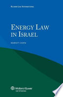 Energy Law in Israel