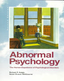 Abornmal Psychology