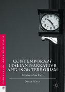 Contemporary Italian Narrative and 1970s Terrorism
