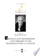 Trends In Electrochemistry And Corrosion The Beginning Of The 21st Century Book PDF