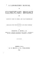 Laboratory Manual in Elementary Biology