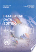 Statistical Data Editing: Impact on data quality