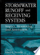 Stormwater Runoff And Receiving Systems Book PDF