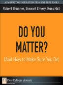 Do You Matter? (And How to Make Sure You Do) Pdf/ePub eBook