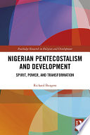 Nigerian Pentecostalism And Development
