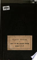 Journal of the House of Representatives of the Commonwealth of Massachusetts Book