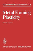 Metal Forming Plasticity