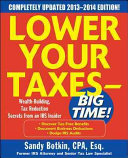 Lower Your Taxes Big Time 2013 2014 5 E