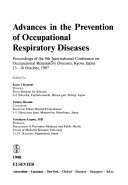 Advances in the Prevention of Occupational Respiratory Diseases