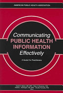 Communicating Public Health Information Effectively