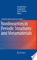 Nonlinearities in Periodic Structures and Metamaterials Book