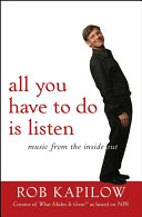 All You Have to Do is Listen Book PDF