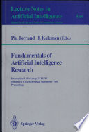 Fundamentals of Artificial Intelligence Research