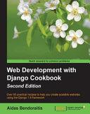 Web Development with Django Cookbook Pdf/ePub eBook